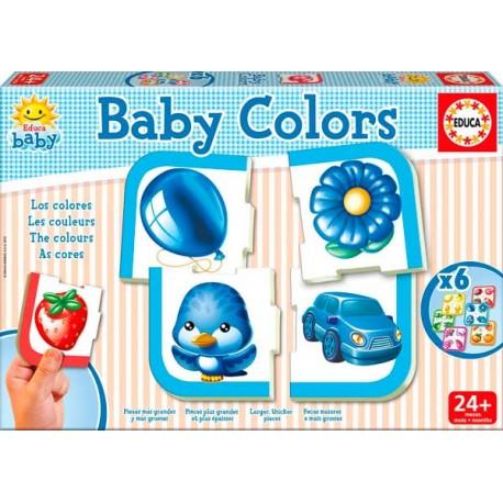 Puzzle Baby Los Colores