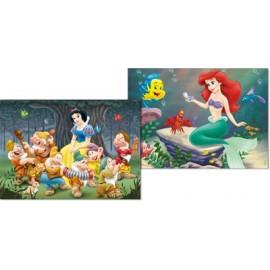 Puzzle 48x2 Princesas