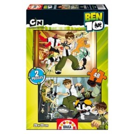 Puzzle 48x2 Ben10