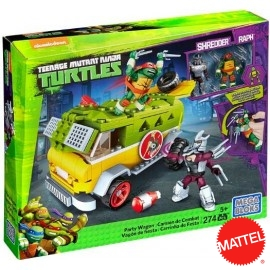 Furgon Tortugas Ninja Megablocks