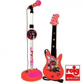 Guitarra y Micro Ladybug