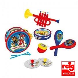 Set 6 Instrumentos Paw Patrol