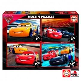 Puzzle Progresivo Cars 3