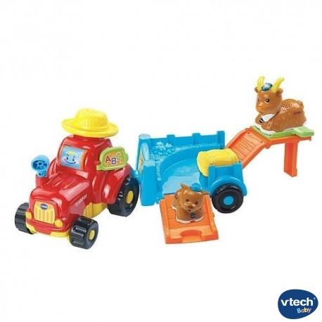 Tractor Tobogan Animales