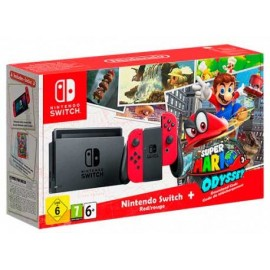 Nintendo Switch + Mario Odissey