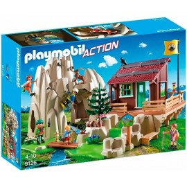 Escaladores con Refugio Playmobil