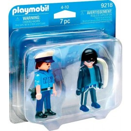 Pack Duo Policia y Ladron