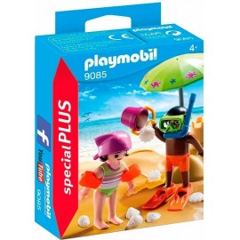 Niños en la Playa 9085