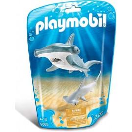 Tiburon con Bebe 9065
