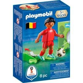 Jugador de Futbol Belgica