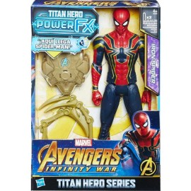 Spiderman Titan y Mochila Power Fx Spider-Man