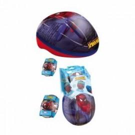 Casco Spiderman + Protecciones