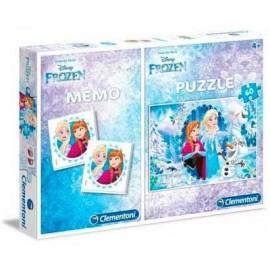 Puzzle 60 + Memo Frozen