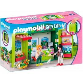 Cofre Tienda de Flores Playmobil