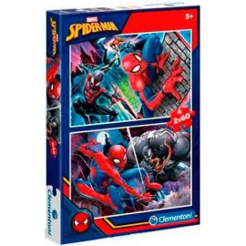 Puzzle 60x2 Spiderman