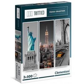 Puzzle 500x3 New York