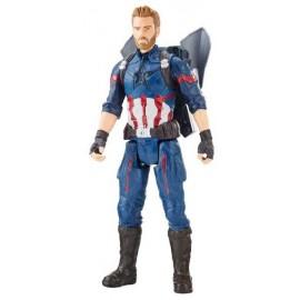 Capitán América Titan y Mochila Power Fx