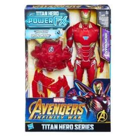 Iron Man Titan y Mochila Power Fx