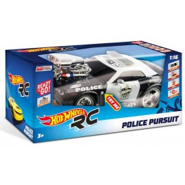 Coche R/C Hot Wheels Policia 1.16