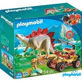 Vehiculo Explorador con Estegosaurio