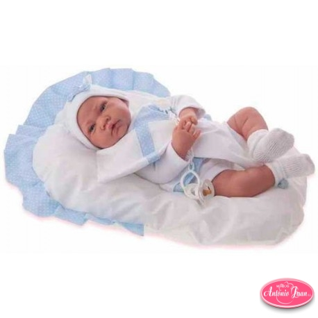 Recien Nacido Cojin Azul 3381