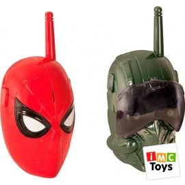 Walkie Talkies Spiderman