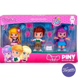 Pin y Pon Pack 3 Figuras Piny Surtidas