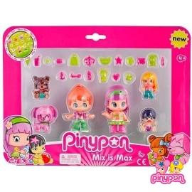 Pin y Pon Pack Muñecos y Bebes