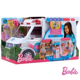 Barbie Ambulancia de Mascotas