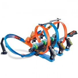 Hot Wheels Pista Triple Looping
