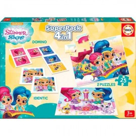 Super Pack 4 en 1 Shimmer & Shine