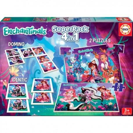 Super Pack 4 en 1 Enchantimals