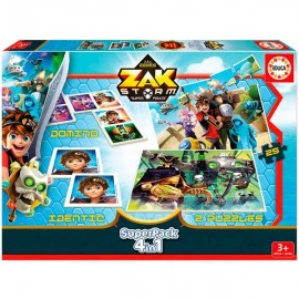 Super Pack 4 en 1 Zak Storm