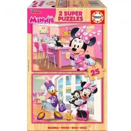 Puzzle 25x2 Minnie Madera