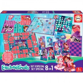 Set 8 Juegos Enchantimals