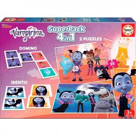 Super Pack 4 en 1 Vampirina