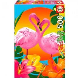 Puzzle 500 Flamencos