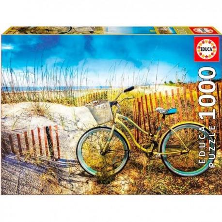 Puzzle 1000 Bicicleta en Dunas