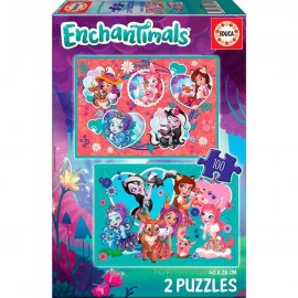 Puzzle 100x2 Enchantimals