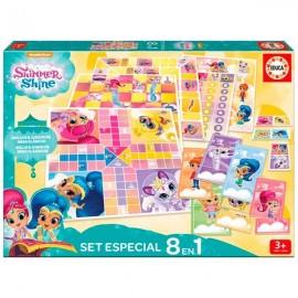 Set 8 Juegos Shimmer & Shine