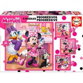 Puzzle Progresivo 12-16-20-25 Minnie