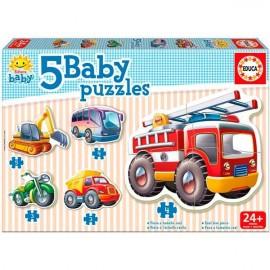 Baby Puzzles Vehiculos