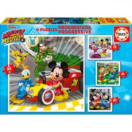 Puzzle Progresivo 12-16-20-25 Mickey