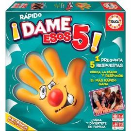 Dame esos 5 !!!
