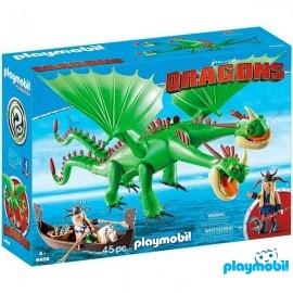 Dragons 2 Cabezas Chusco y Brusca