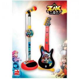 Micro y Guitarra Zak Storm