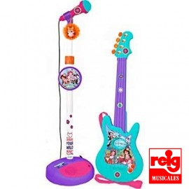 Guitarra y Micro Enchantimals