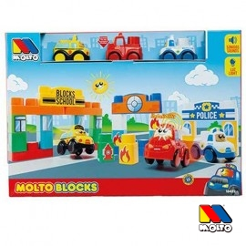 Moto Blocks con 3 Vehiculos