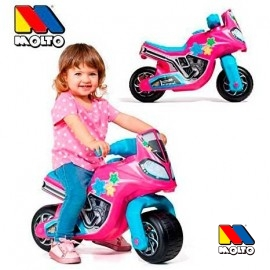 Moto Correpasillos Pink Race