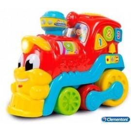 Tren Educativo 123 Clementoni